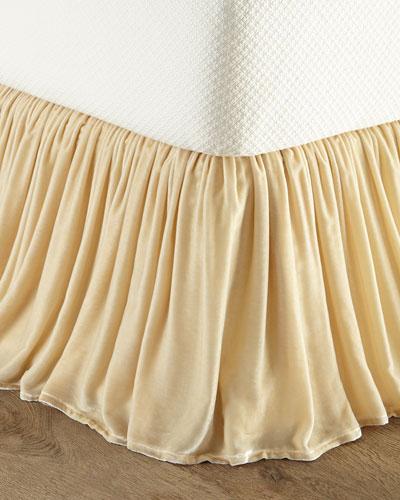 King Velvet Dust Skirt