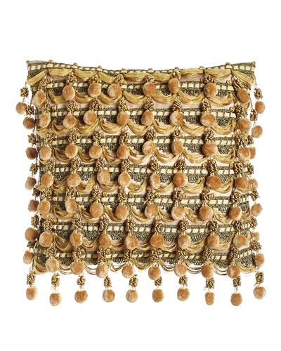Pompom Pillow, 16