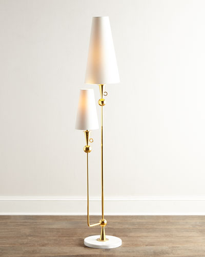 Quick look jonathan adler · caracas floor lamp