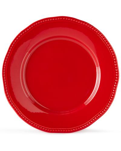 12 - Piece Red Bistro Dinnerware Service