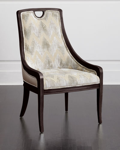 Belle Leather Side Chair