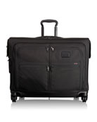 Alpha 2 Black 4-Wheeled Medium-Trip Garment Bag Luggage