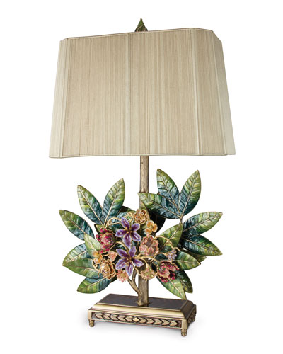 Bouquet & Leaf Lamp