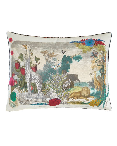 Wild Nature Papaye Pillow