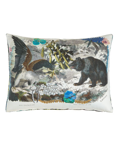 Crazy Nature Onyx Pillow