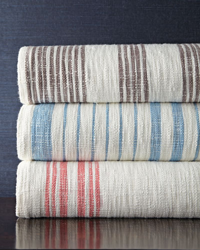 King Striped Coverlet