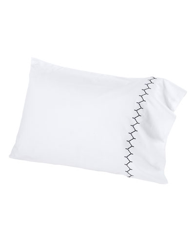 Two Standard 300TC Stitched Pillowcases