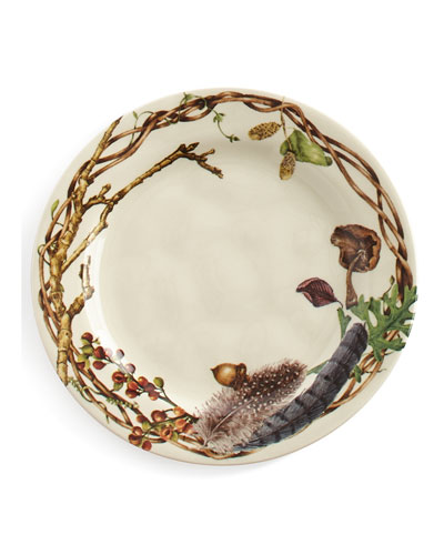 Juliska Forest Walk Party Plates, Set Of 4