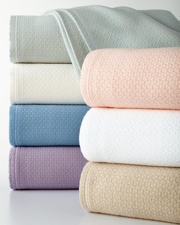 Twin Basket Weave Blanket