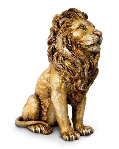 Majestic Lion Figurine