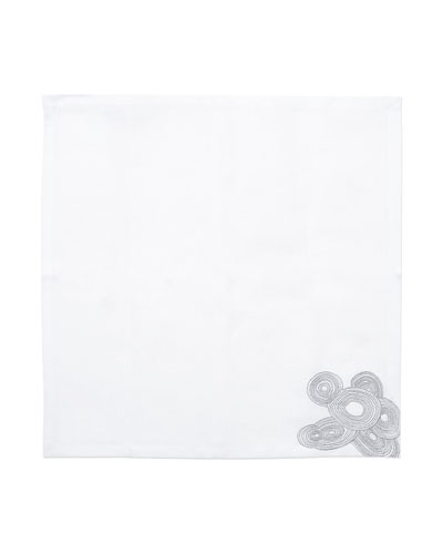 Grey Malachite Napkin