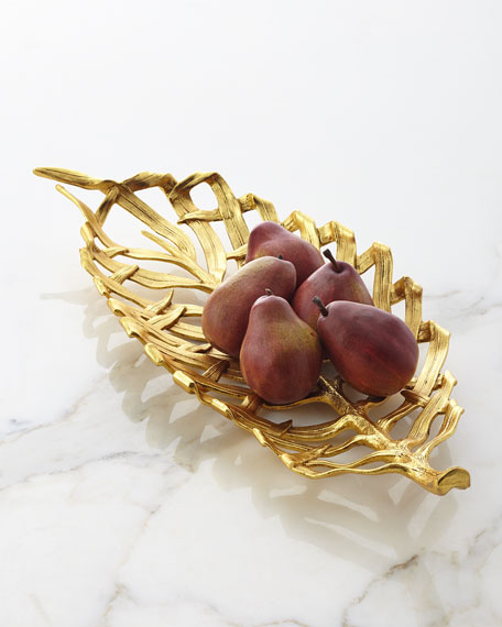Michael Aram Palm Centerpiece Platter