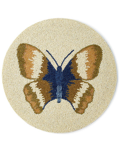 Butterfly Beaded Placemat