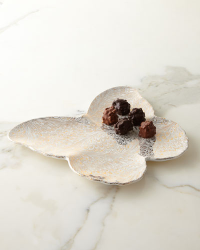 Large Firenze Medici Butterfly Tray
