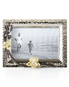 "Gold Orchid 4"" x 6"" Picture Frame"