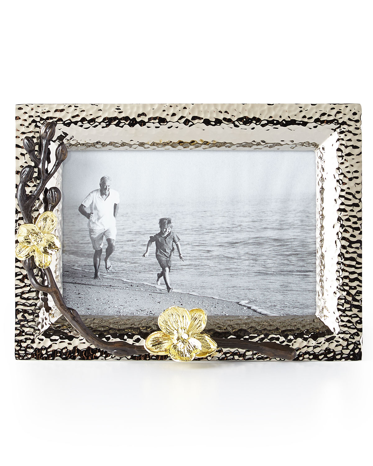 """Michael Aram Picture frames GOLD ORCHID 4"""" X 6"""" PICTURE FRAME"""