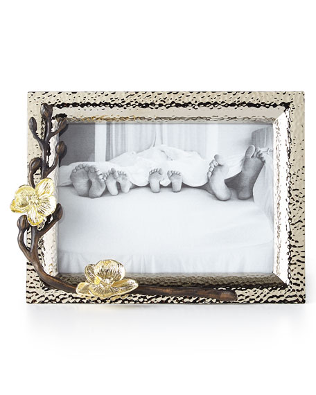 "Michael Aram Gold Orchid 5"" x 7"" Picture Frame"