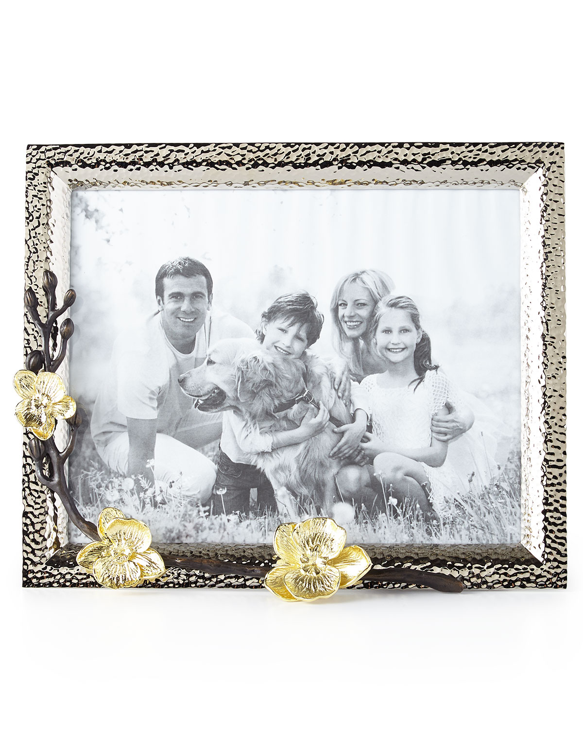 """Michael Aram Picture frames GOLD ORCHID 8"""" X 10"""" PICTURE FRAME"""