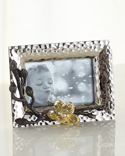 Gold Orchid Mini Frame
