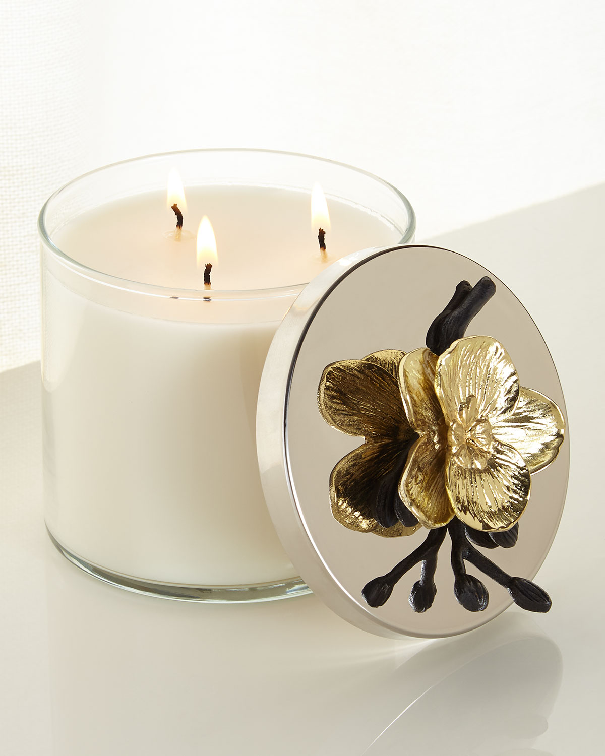 Michael Aram Candles GOLD ORCHID CANDLE