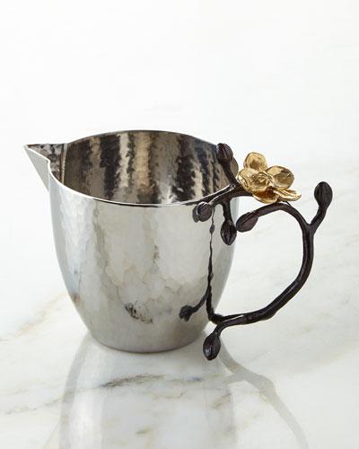 Nickel plated handcrafted dinnerware neiman marcus