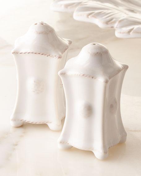 Juliska Berry & Thread Whitewash Salt & Pepper Set