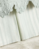 Queen Aiden Stripe Dust Skirt