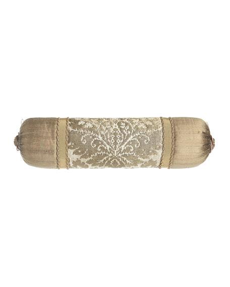 """Austin Horn Collection Vienna Neck Roll Pillow, 6"""" x 26"""""""