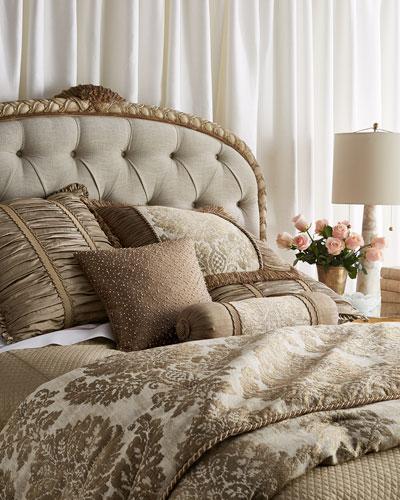 King Vienna Damask Comforter