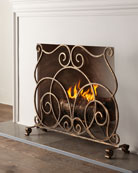 Lyrical Fireplace Screen
