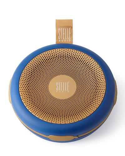 Stelle Audio Navy Blue / gold Go - go Wireless Speaker