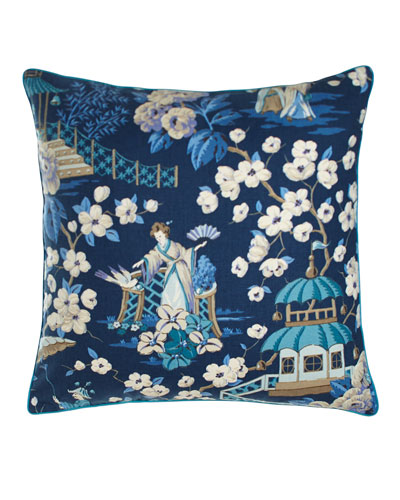 Ming Pagoda Summer Palace Pillow, 22