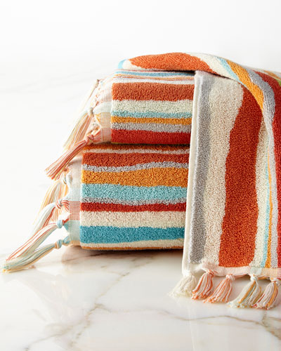 Kaiya Stripe Hand Towel