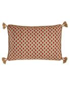 """Sahara Geranium Pillow, 13"""" x 19"""""""