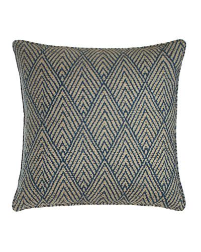 Tahitian Stitch Sapphire Pillow, 20