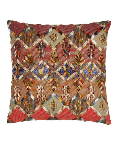 Anatolia Embroidered Kenya Pillow, 20