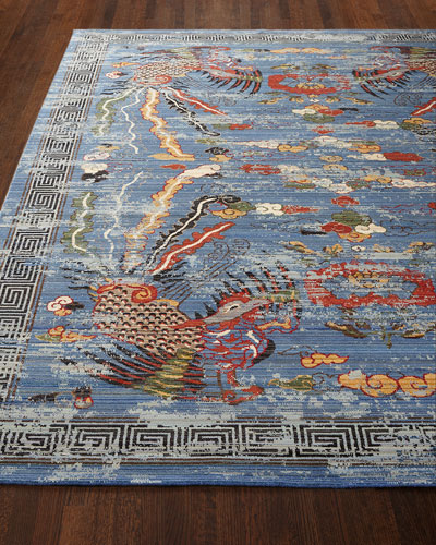 Imperial Blue Rug, 5'6