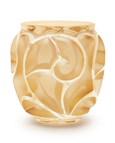 Tourbillions Small Gold Vase