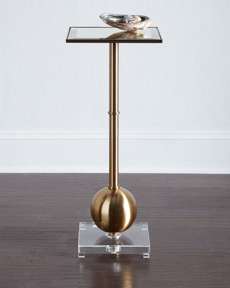 Fiona Brass End Table