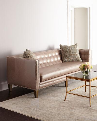 Rosalind Leather Sofa 76
