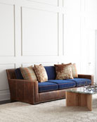 Darlene Leather Sofa