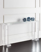 Naomi Acrylic Console Table