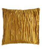 European Royale Reversible Gold Silk Sham