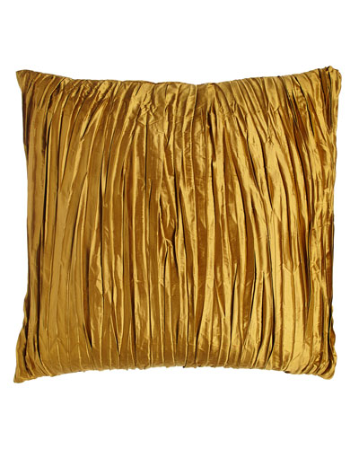 European Royale Reversible Gold Silk Sham