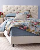Valentine Tufted Queen Bed