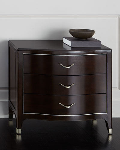 Dark Brown Nightstand  f859aad4a2