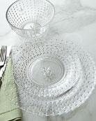 12-Piece Renaissance Clear Dinnerware Service