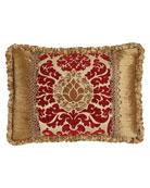 Austin Horn Collection Arabesque Pieced Pillow, 14
