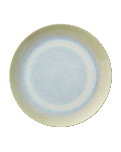 Crackle Seaglass Pooling Ombre Dessert Plate