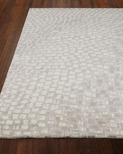 Cream Tile Rug, 7'9